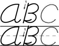 Crafty: Remember cursive?