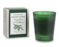 Things I love today: Winter forest candle