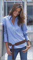 Summer must-have: Pull over poplin shirt