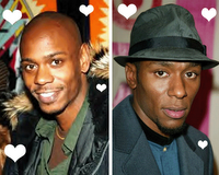 Spotted: Chappelle and Mos Def!