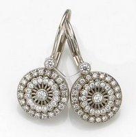 Coveted: Estate diamond earrings