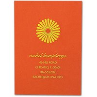 Things I Love Today: Tangerine Calling Cards