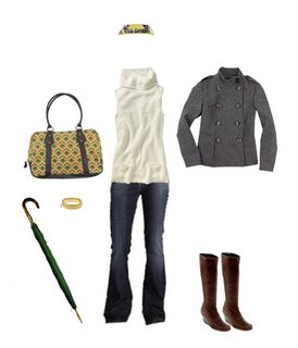 What to Wear: Rainy Day