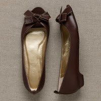 Shopping Challenge: Dressy Brown Flats