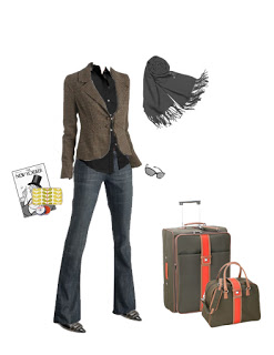 What to Wear: Travel Outfit