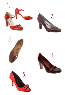 What to Wear: Red Shoes