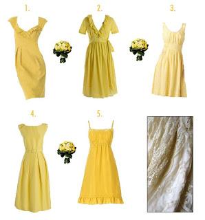 Wedding Wednesday: More Bridesmaid Dresses!