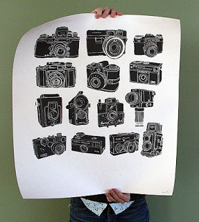 Coveted: Vintage Camera Poster