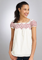 Bargain: Embroidered Top