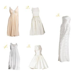 Wedding Wednesday: Second Dress