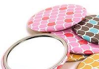 Things I Love Today: Custom Pocket Mirrors