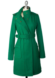 Things I Love Today: Green Coat