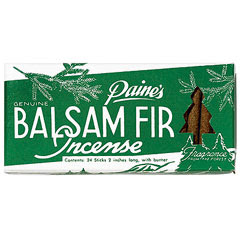To Do: Balsam Incense