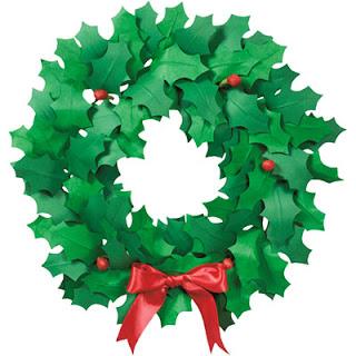 Crafty: Paper Wreaths