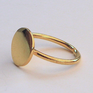 Things I Love Today: Gold Ring