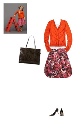 What to Wear: Crew Kids Inspired Pink and Orange