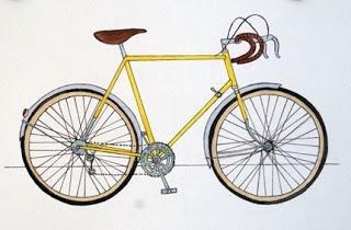 Inspired: Bike Print
