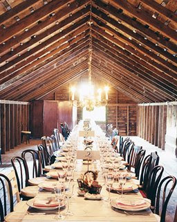 Wedding Wednesday: Barn Bonanza