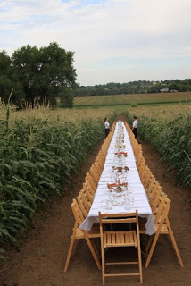 Wedding Wednesday: Long Tables
