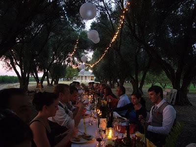 Jean's Wedding: Dinner