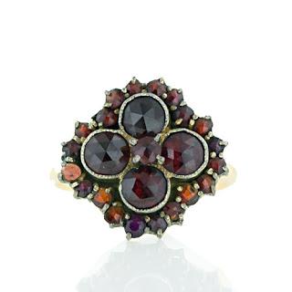 Inspired: Garnet Ring