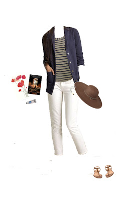 French Week: Coastal Outfit