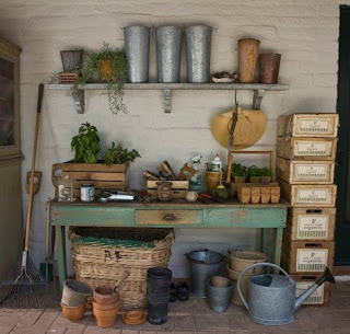 Inspired: Potting Shed