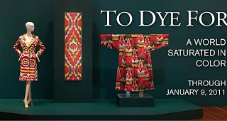 To Dye For at the de Young