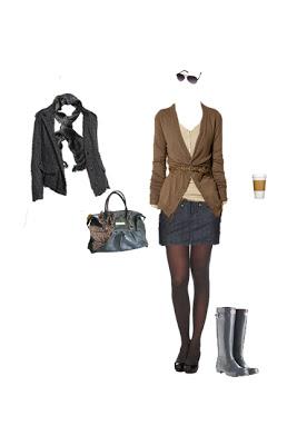 What to Wear: Rainy Day Uniform