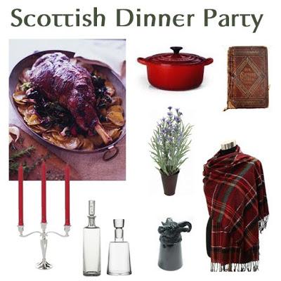 Party Recipe: Scottish Dinner