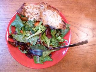 Dinner: Garden Salad