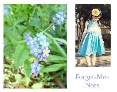 Flower Week: Forget-me-nots