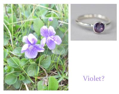 Flower Week: Violet