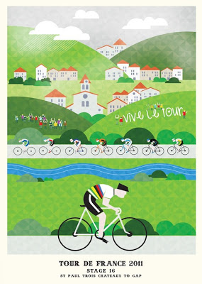Inspired: Tour de France Posters