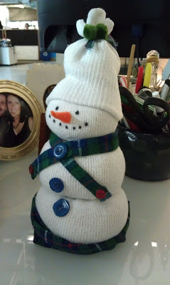 Ladies Activity Club: Sock Snowmen