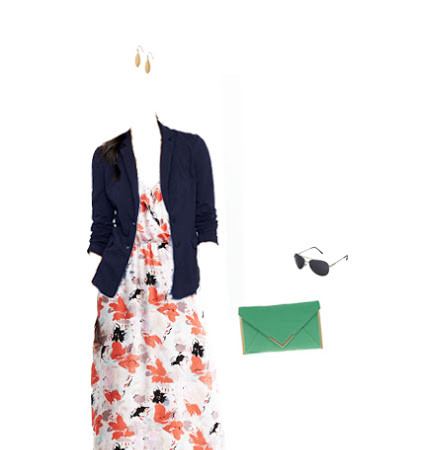 What to Wear: Maxi Dress for the Office