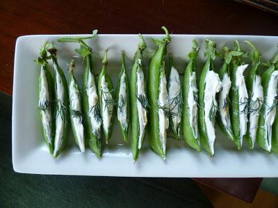 Recipe: Spring Pea Appetizers