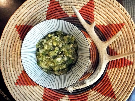 Recipe: Roasted Tomatillo Salsa