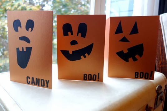 To Do: Halloween Cards