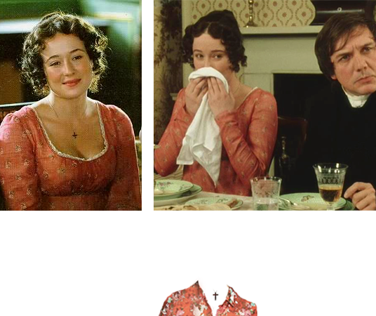 What to Wear: Inspired by Elizabeth Bennet's Red Dress in Pride & Prejudice