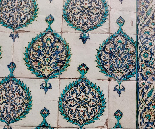 The Ottoman Textures of Istanbul's Topkapi Palace