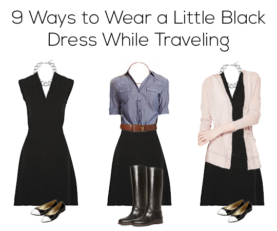 9 Ways to Wear a Little Black Dress While Traveling ...