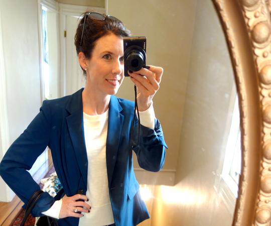 What to Wear: Blazer + Skinny Jeans