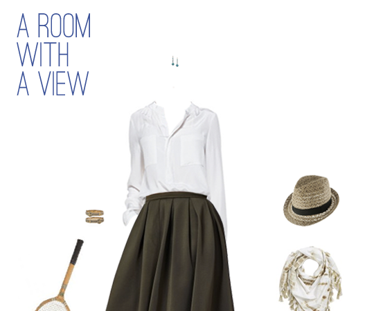 What to Wear: A Room With a View Inspired