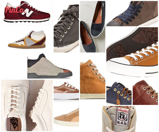 Picking out the Right Pair of Fall Sneakers