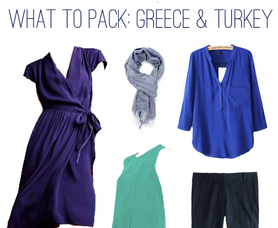 What to Pack: 2 Weeks in Greece and Turkey, Plus a Work Conference