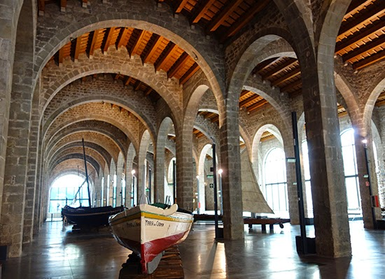A Rainy Barcelona Day at the Museu Marítim