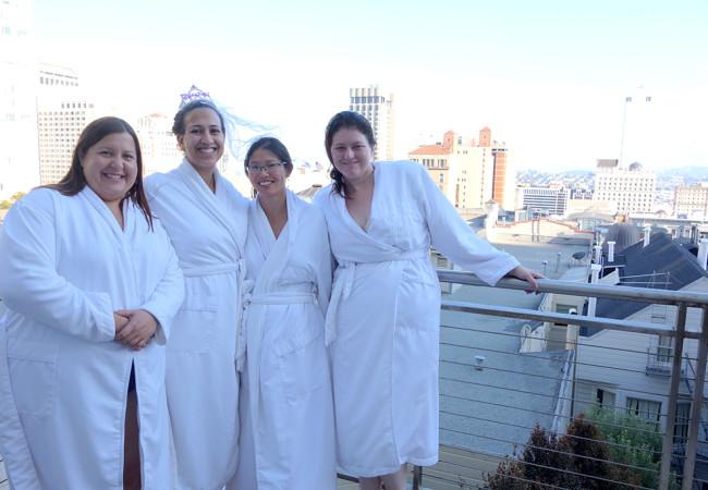 A San Francisco Spa Bachelorette Party