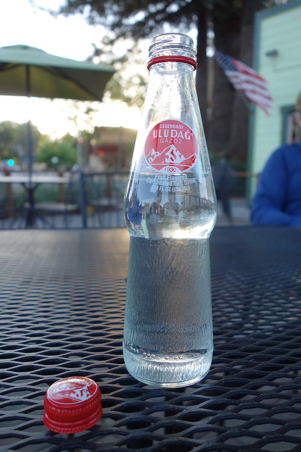 Classic Turkish soda in Sonoma