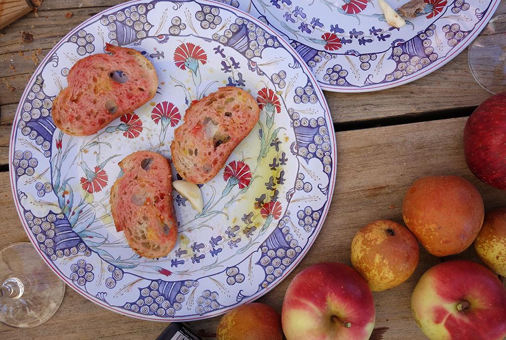 Picnic pan con tomate recipe